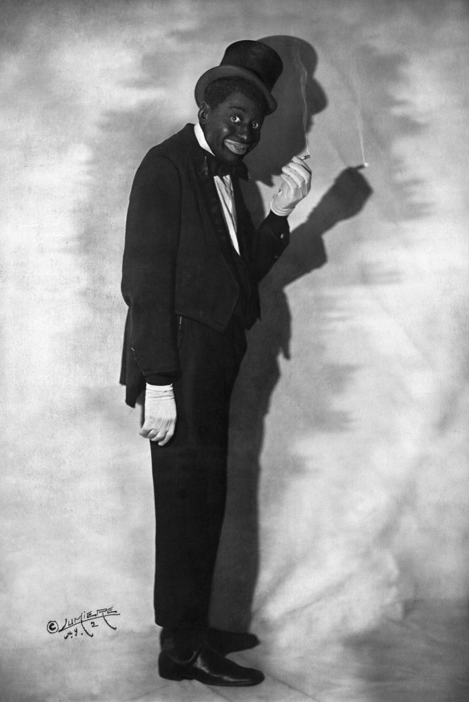 Bert Williams Blackface