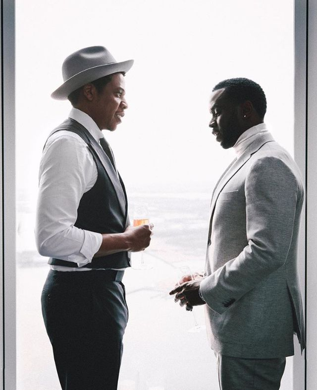 Diddy and Jay